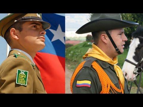 Las mejores policías de sudamerica