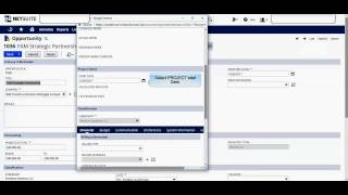 NetSuite : Create a New Project - Initial Setup