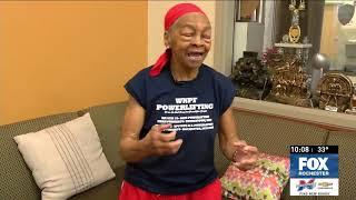 Bodybuilder, 82, fights break-in suspect - Her own words