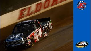 Bell reacts to disappointing finish at Eldora