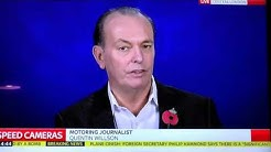 FairFuelUK's Quentin Willson on Sky News re M1 Speed Cams