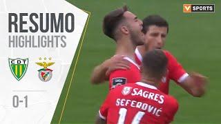 Highlights   Resumo: Tondela 0-1 Benfica (Liga 19/20 #8)