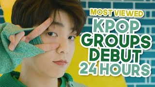 Most Viewed Kpop Groups Debut Music Videos