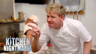 Gordon Furious With Mediocre Chef - Kitchen Nightmares