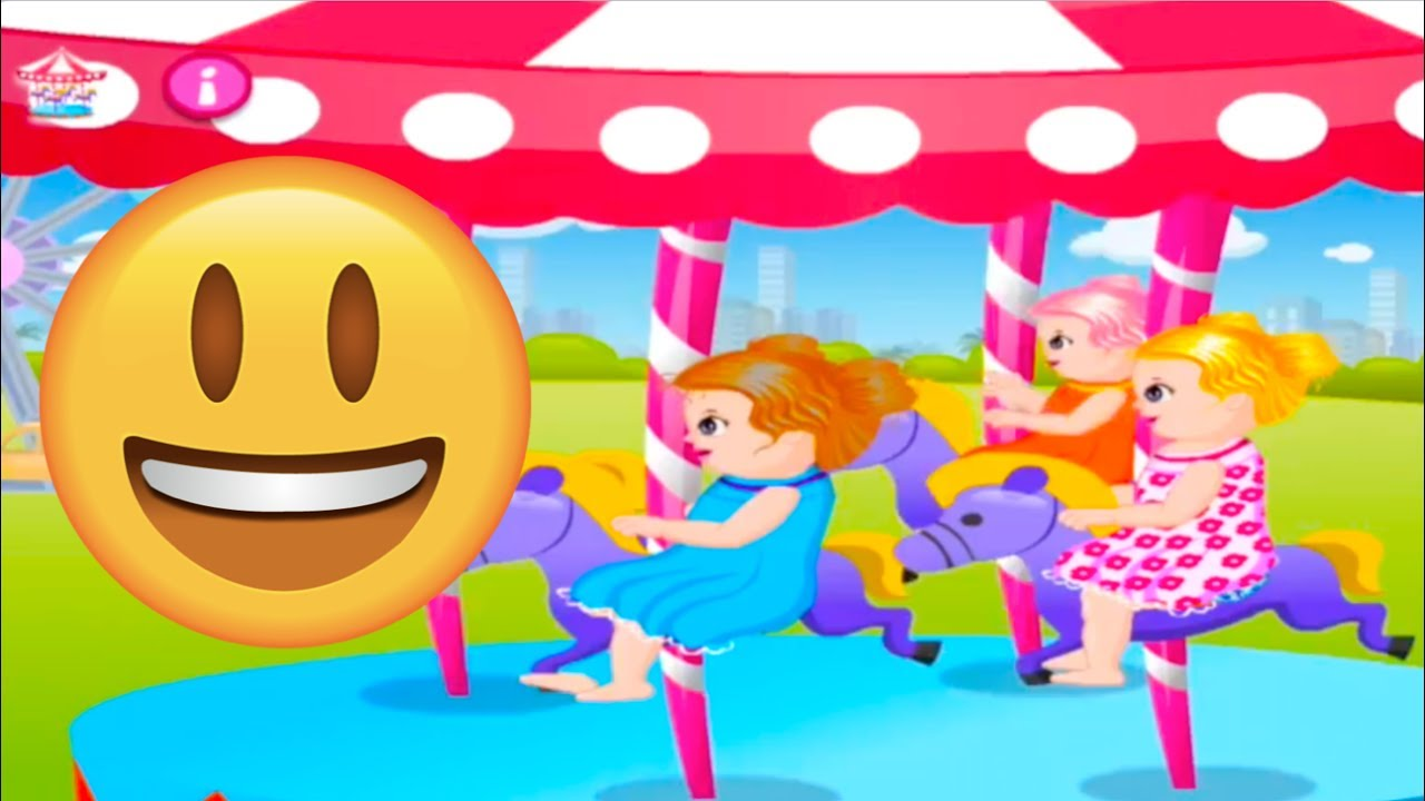 Fun Baby in Theme Park - Free Online Game + App Download