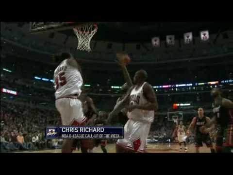 Chris Richard makes his Chicago Bulls Debut