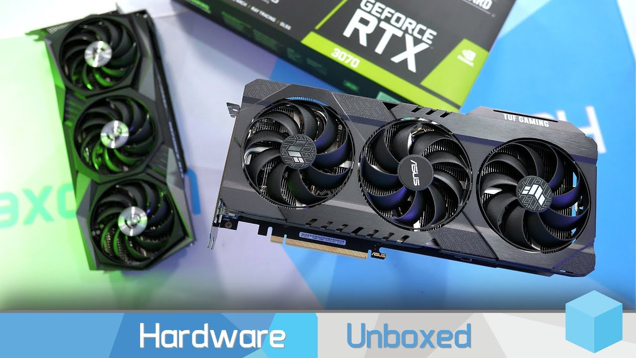 Asus RTX 3070 TUF Gaming & MSI RTX 3070 Gaming X Trio Review, Thermals, OC & Gaming Benchmarks