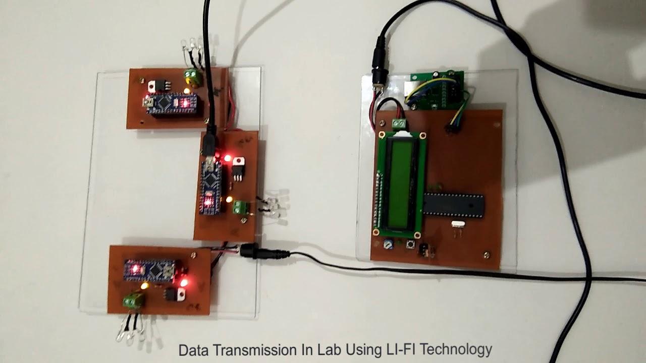 Download Data Transmission Using LI-FI (LIGHT FIDELITY)