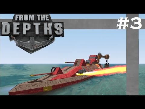 From The Depths| S4 Part 3| Support-Supply Vessel!