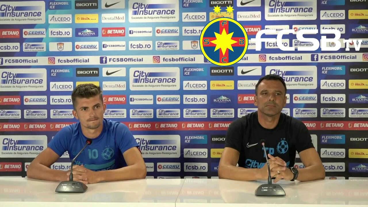 Conferință de presă înainte de Sepsi - FCSB!