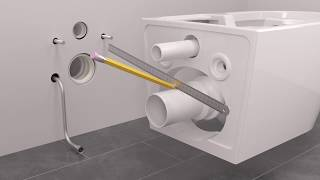 animation 3D notice de montage toilettes Godart