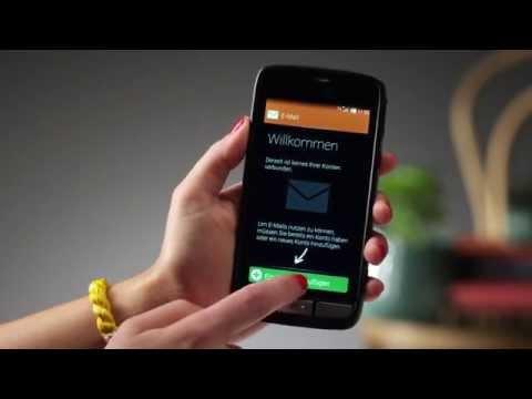 Doro Liberto® 820 – 2 Eine E-Mail schicken - Einfache Bedienung - Senioren Smartphone