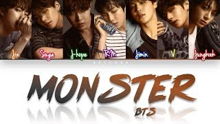 Gambar cover How Would BTS Sing 'MONSTER' by EXO (Eng/Rom/Han) (FANMADE)