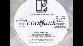 "Five Special - Your Body Heat (12"" Funk 1981)"