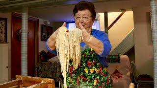 Pasta Grannies meets Nonna Maria from New Jersey!