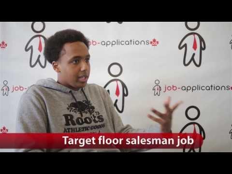 Target Floor Salesman Job Youtube