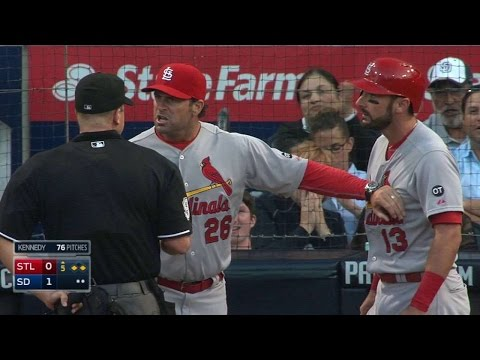 STL@SD: Carpenter ejected after striking out looking