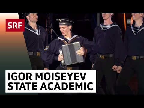 Igor Moiseyev State Academic Ensemble of Popular Dance - Russland - Basel Tattoo 2017 vom 16.9.2017