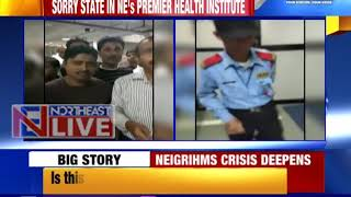Crisis deepens in NEIGRIHMS; Cardiology dept put under lock and key