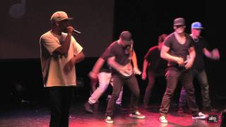 Justice Crew - Secret Rehearsal - Chris Brown Tour 2011 - AIM