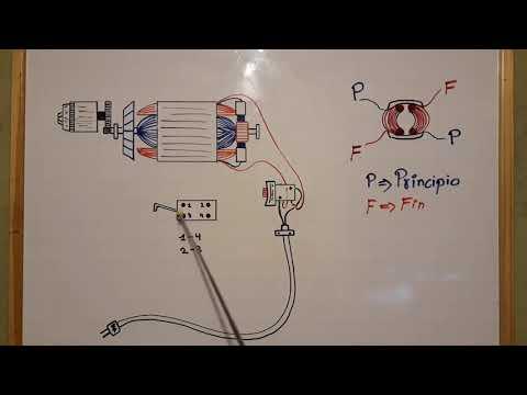 Como conectar interruptor de motor de taladros y rotopercutores.