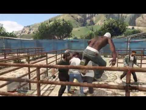 GTA 5- Schlägerei deathmatch Fight let´s play  -Grand Theft Auto 5