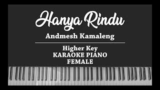 Download lagu Hanya Rindu (FEMALE KARAOKE PIANO COVER) Andmesh Kamaleng