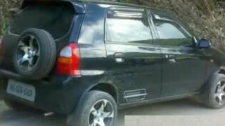 Car modified alto maruti