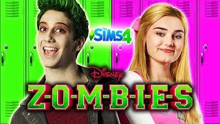 Disney ZOMBIES Sims 4 (Ep 1) 🧟🧠Create a Sim (CAS), Seabrook High School, & Zombieland!🧟🧠