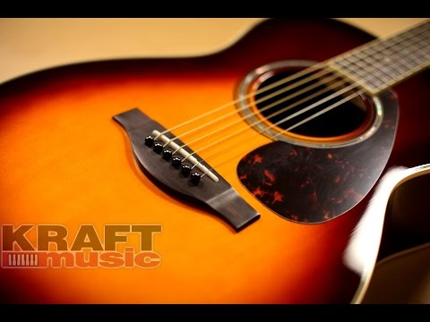 Yamaha LS16 ARE Handcrafted Acoustic Guitar Demo