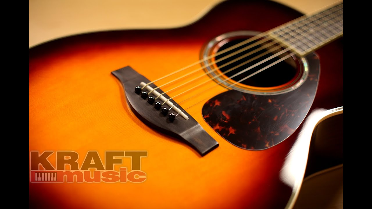 Yamaha ls16 are handcrafted acoustic guitar demo youtube for Yamaha ls16 vs ll16