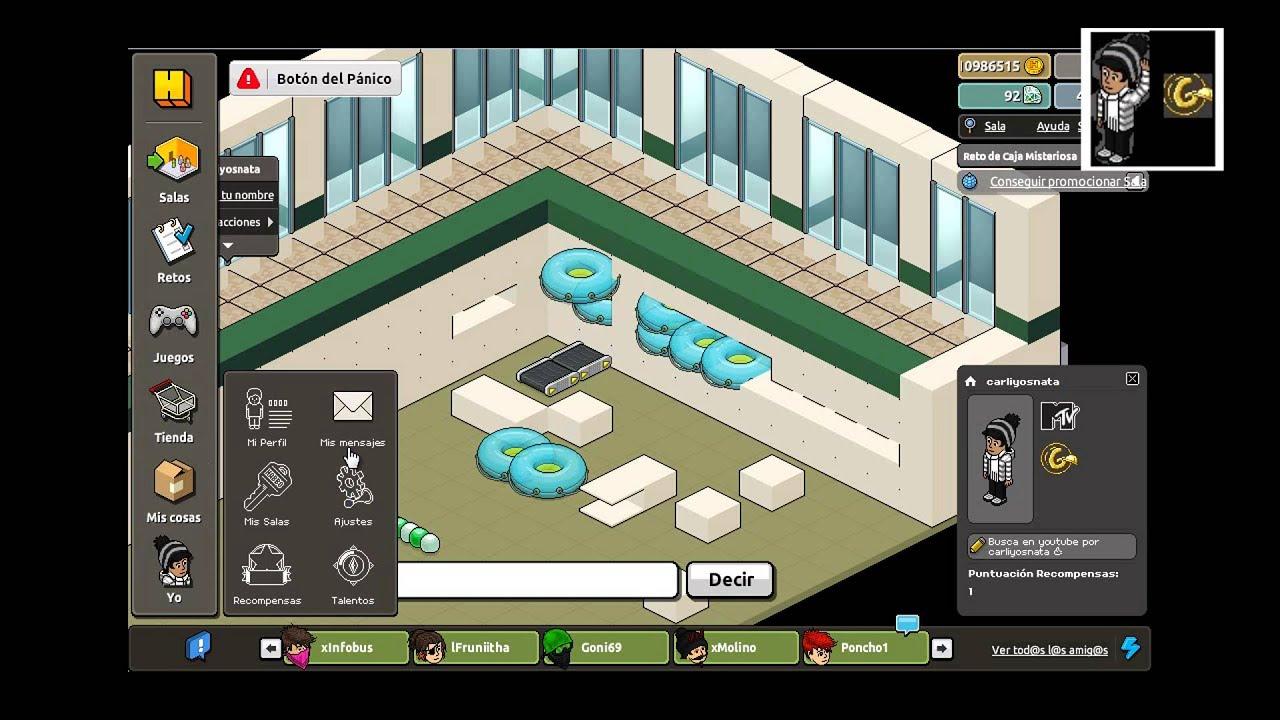 Habbia como hacer una piscina de interior youtube for Como hacer una casa en habbo