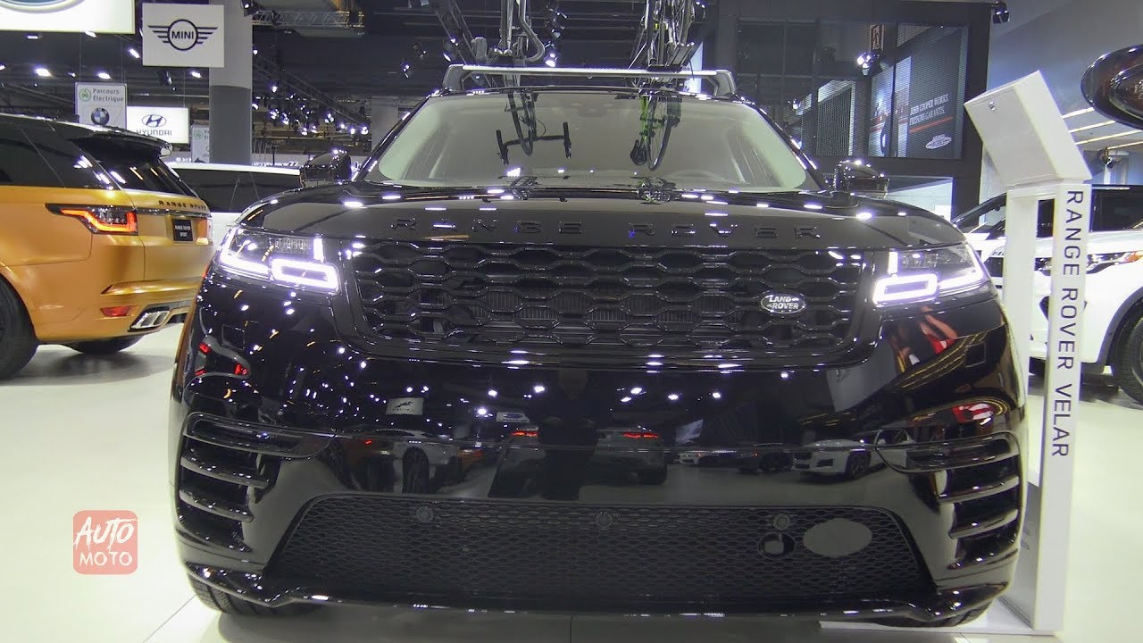 2019 Range Rover Velar - Exterior And Interior Walkaround - 2019 Montreal Auto Show