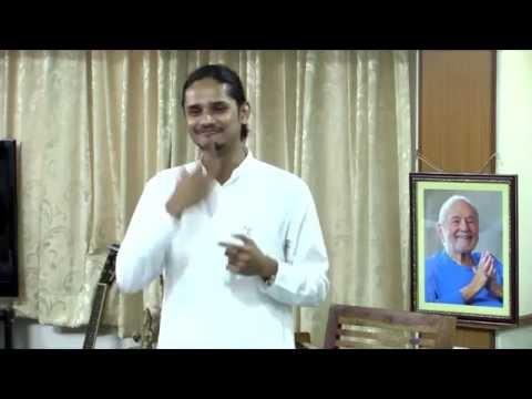 Narayani & Shurjo's farewell satsang in Pune City Center