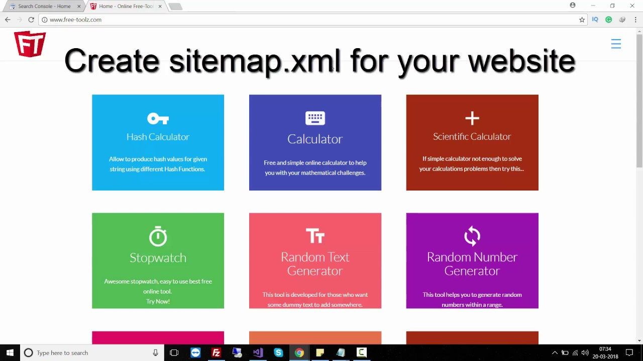 create sitemap quickly and submit to google create sitemap for asp