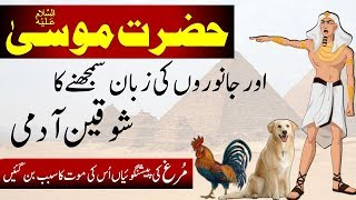 Hazrat Musa AS    Story of Prophet Mosa    Moses In Islam    Prophet Stories    पैगंबर