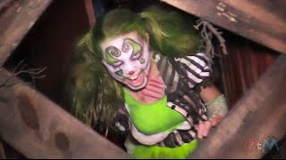 FULL NEW Shallow Grave - ADHD haunted house 2014 POV walkthrough