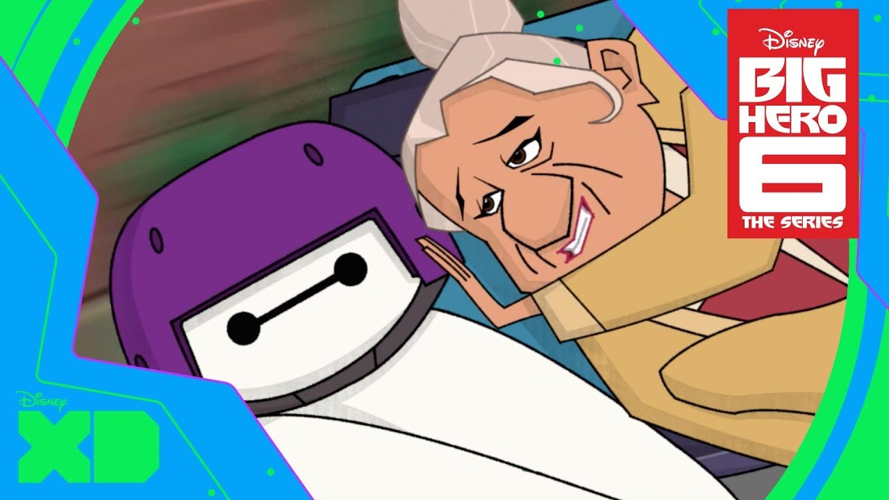 Baymax And Gogo big hero 6: the series | baymax and go go | official disney xd uk
