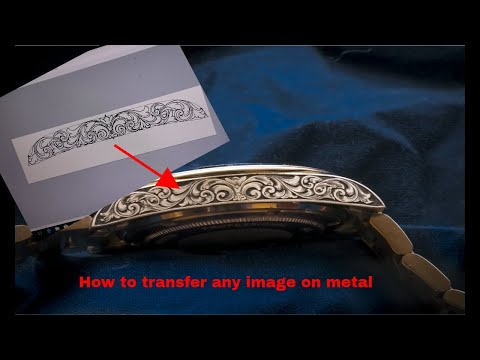 How to transfer any image on metal