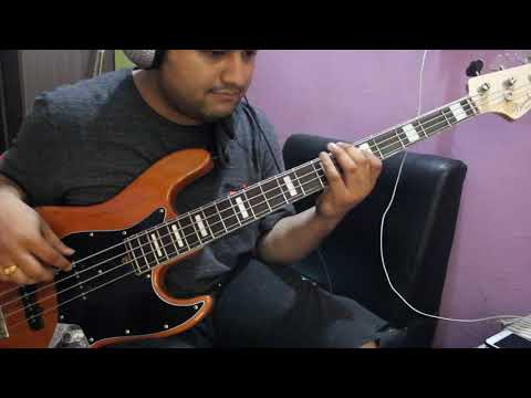Aakashaima Mantra Bass Cover #bassplaythrogh#