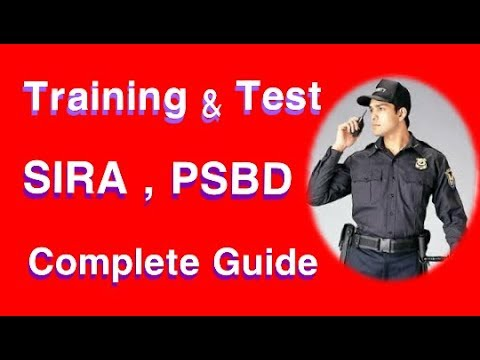 Security Guard interview questions and answers   PSBD exam question   SIRA test in dubai # 03