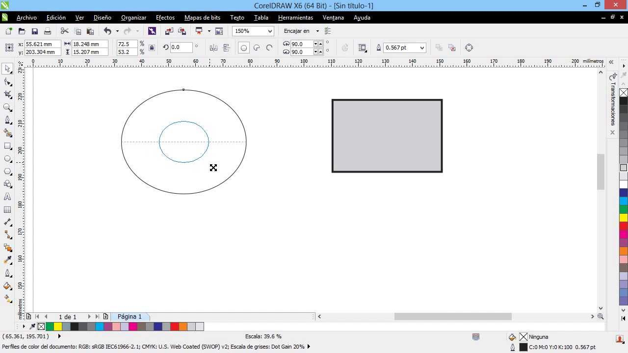 how to change mm to cm in coreldraw