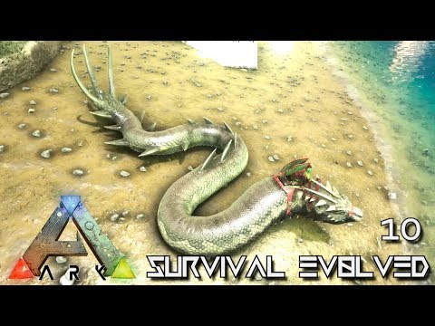 ARK: ABERRATION - BASILISK TAMING GIANT DRAGON SNAKE !!! E10 ( GAMEPLAY ARK: SURVIVAL EVOLVED )