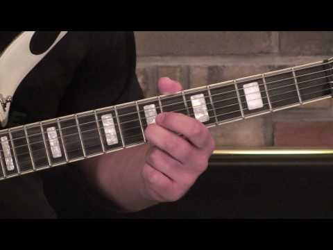 How To Play Last Dance With Mary Jane (Riffs) on Guitar