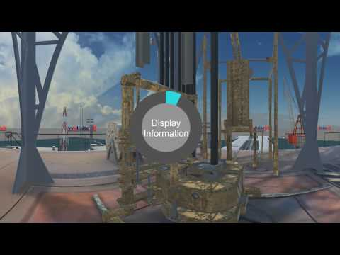 Semi Sub Offshore Rig 360 Video: Scroll using your mouse to explore more!