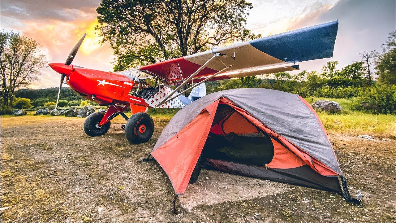 Airplane Camping