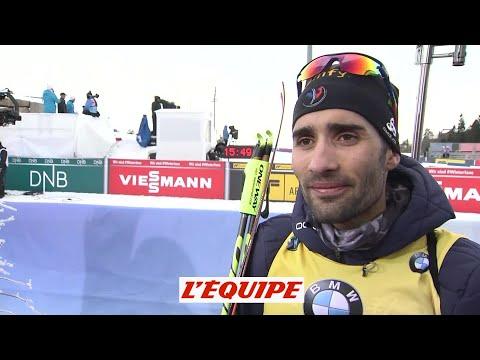 Fourcade «J'ai limité la casse» - Biathlon - CM (H)