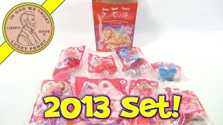 Barbie in the Pink Shoes 2013 McDonald's Happy Meal Toys Set Review - Intro Video