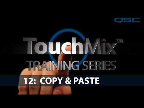 QSC TouchMix-30 Training 12: Copy & Paste (English)