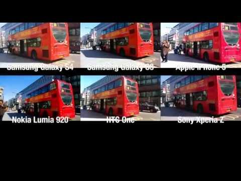 video comparison top 6 smartphones